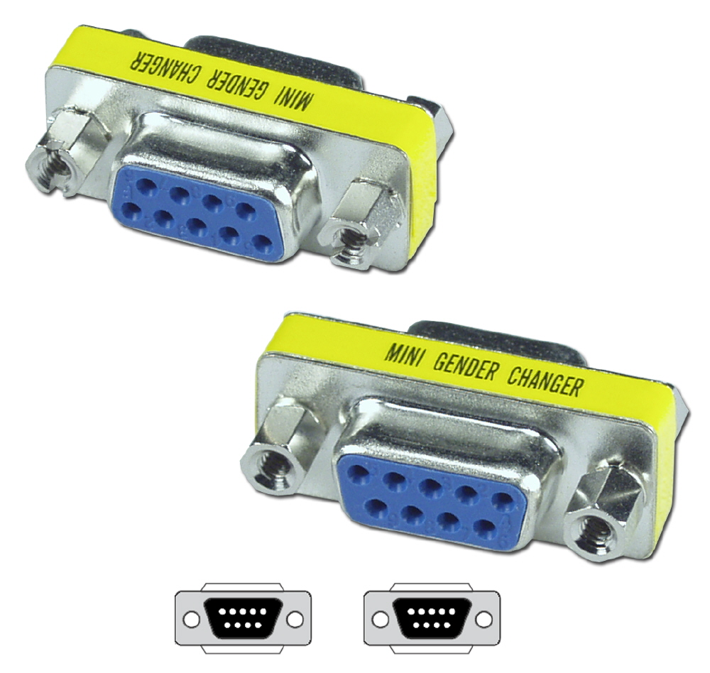 Qvs Serial Adaptors Below The Cable Is A Standard Straight Through Rs232 To Enlarge Click On Part Number