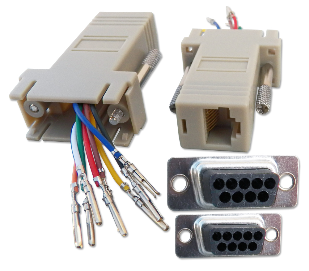 Qvs Serial Interface Converters And Modular Rj To Db Adaptors Usb Rj11 Wiring Diagram Rs232 Female Rj45 8wires Cc439