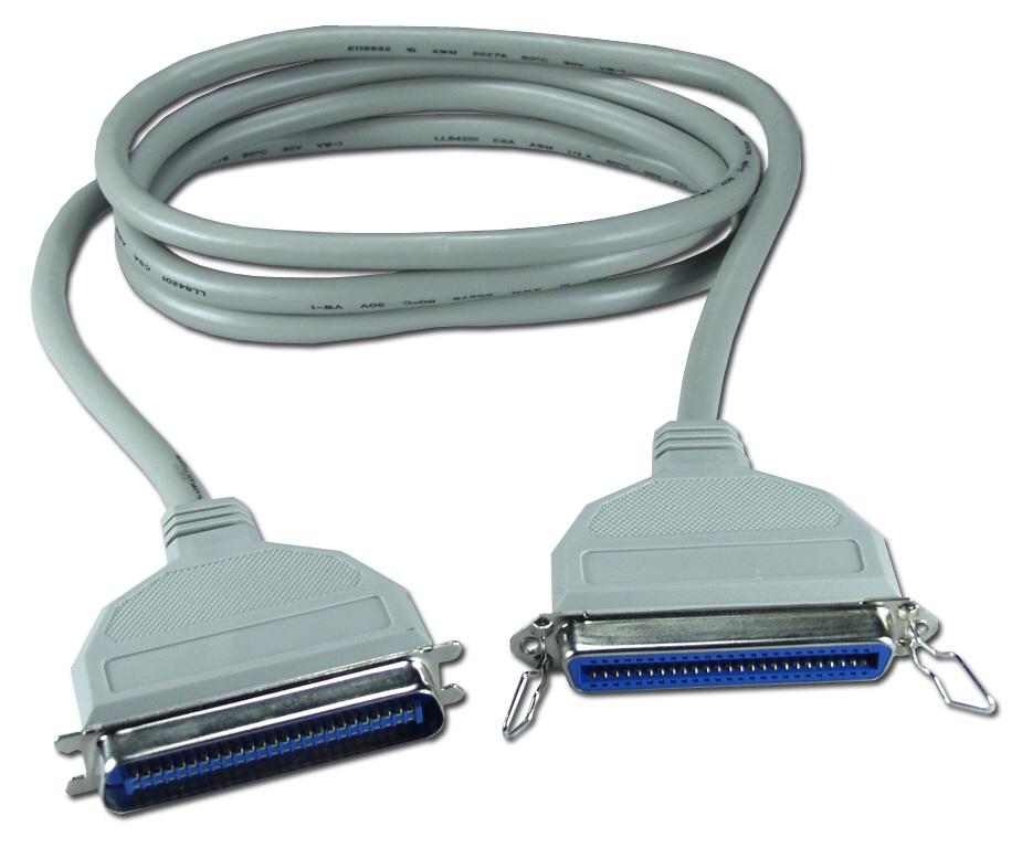 CC537-03 - 3ft SCSI Cen50 Male to Female External Extension Cable