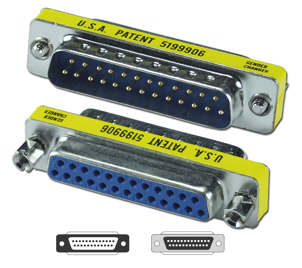 Lot10 DB9 pin Male-Female Serial RS232 Port Saver//Gender Changer Cable Adapter