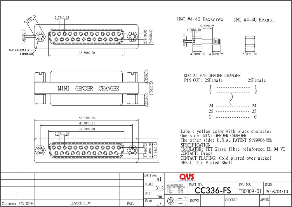 QVS - Serial Adaptors
