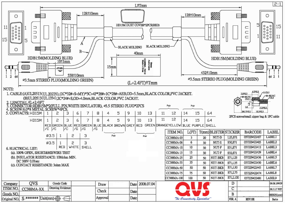 wiring diagram for pc projector