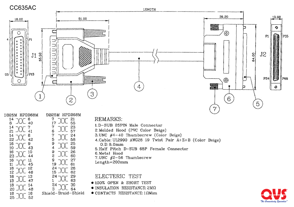 qvs - scsi adaptors and gender changers rj45 connector wiring diagram large