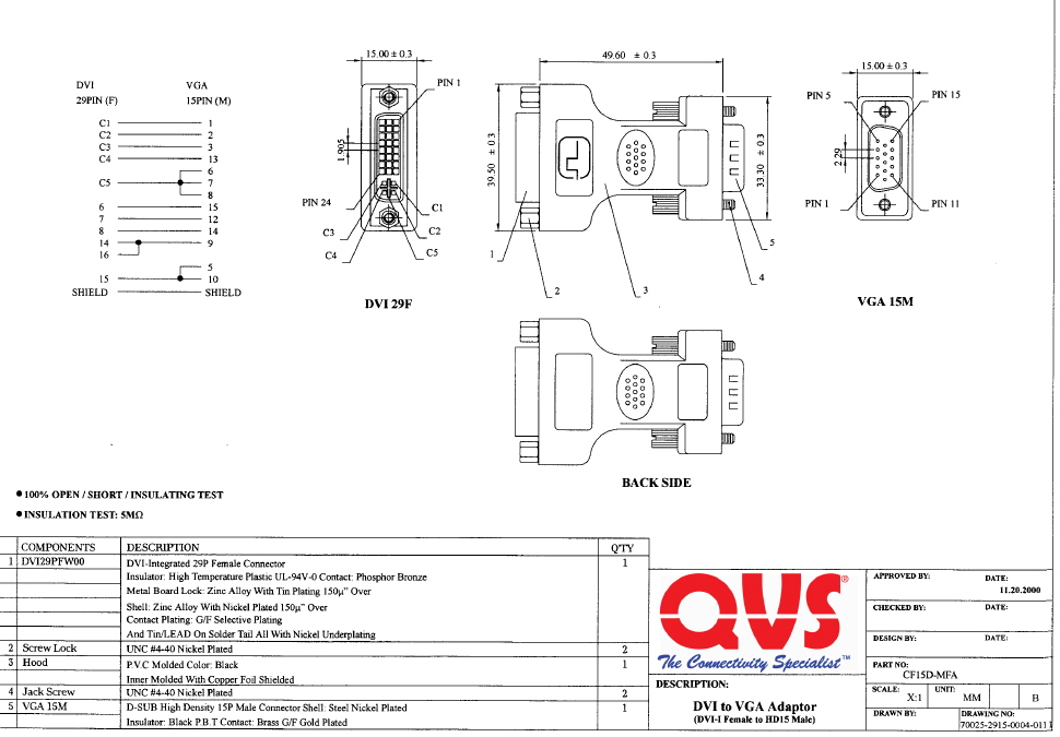 Famous Dvi To Vga Wiring Diagram Images - Electrical Circuit Diagram ...