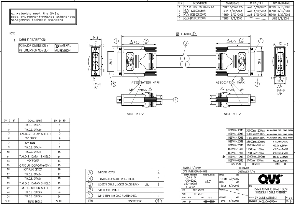 HSDVIG 8MB 35MB_S qvs dvi video cables and adaptors wiring diagram dvi to vga adapter at aneh.co