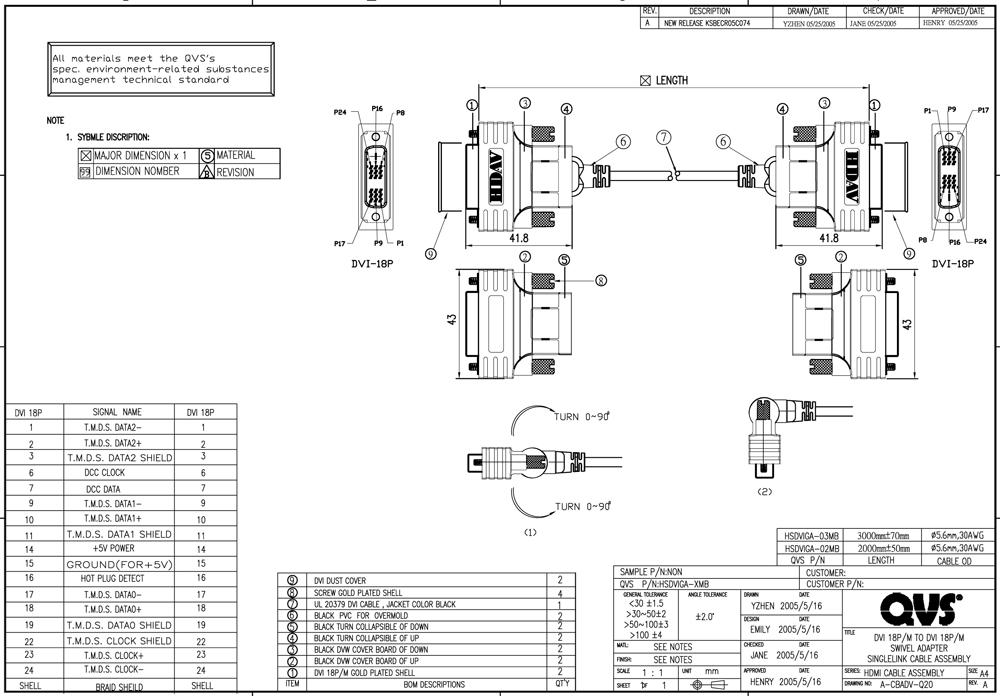 HSDVIGA xMB_S vga to dvi wiring diagram wiring diagram manual