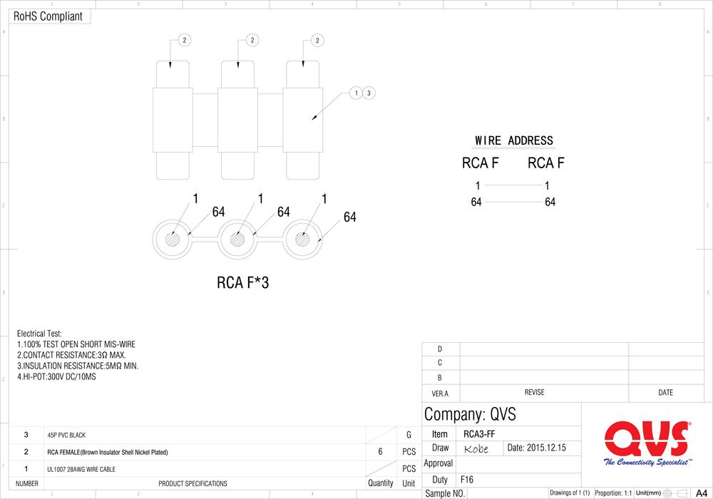 Female Rca Diagram - Wiring Diagram